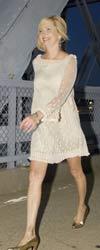 Model-white-dress
